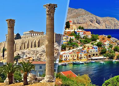 Circuitos Grecia 2017: Atenas y la Isla de Rodas en avión a tu air