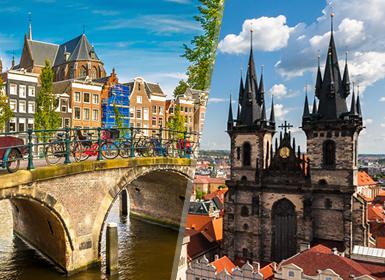 Viajes por Europa combinados Praga y Ámsterdam Esencial A Tu Aire en avión