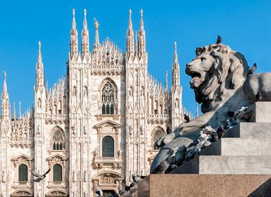 Circuitos Italia: Venecia, Roma y Milán en avión