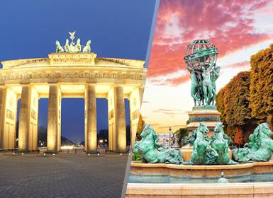 Sur y Centro de Europa: París, Luxemburgo, Rhin y Alemania