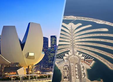 Combinado: Dubái y Singapur