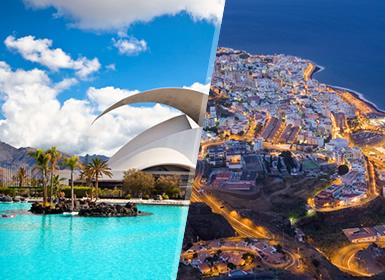 Circuitos por España en Avión: Islas Canarias: Tenerife y La Palma