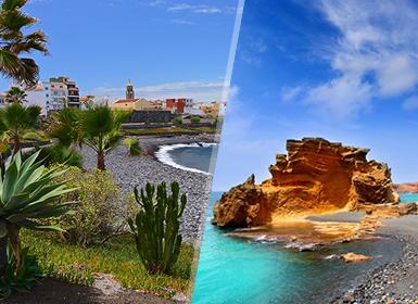 Circuitos por España en Avión: Islas Canarias: Tenerife y Lanzarote