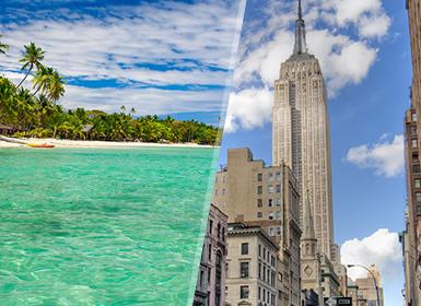 EEUU y Fiji: Nueva York y Viti Levu