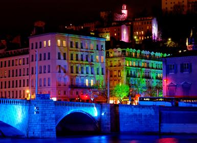 """Francia: Especial Puente Diciembre """"Fête des Lumières"""", el espectáculo de luces"""
