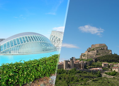 Circuitos por España 2016 Comunidad Valenciana: Mediterráneo: Valencia y Castellón