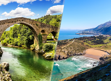 Circuitos Norte de España: Cantabria, Asturias y Picos de Europa