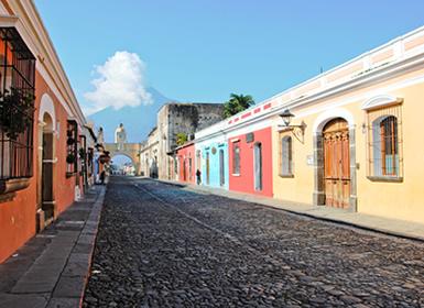 Guatemala y Costa Rica: Antigua y Costa Rica con Manuel Antonio