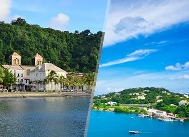 Grandes Viajes de Novios 2017 Antillas Menores: Martinica y Santa Lucía