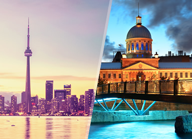 Viaje Estados Unidos 2017: Especial Invierno desde Toronto a Montreal con Región de la Maurice