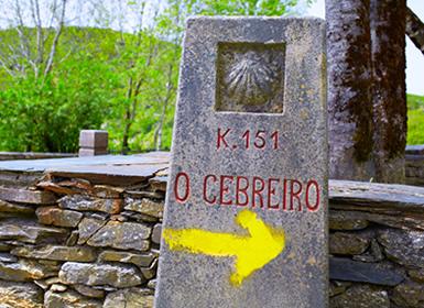 Galicia: Camino de Santiago a pié de O Cebreiro a Santiago