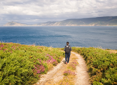 Galicia: Camino de Santiago a pié de Ferrol a Santiago