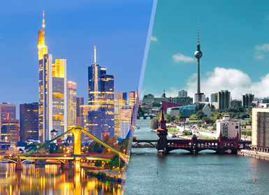 Viajes baratos Alemania: Frankfurt y Berlín en tren