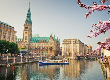 Viajes baratos Alemania: Frankfurt, Hamburgo y Berlín en tren