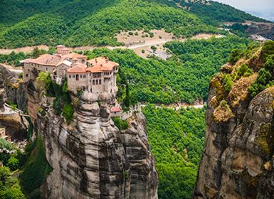 Circuitos Grecia 2017: Ruta por el Peloponeso y Meteora con Coche de Alquiler