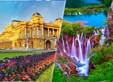 Tours Croacia, Eslovenia, Adriático 2017: Viaje Semana Santa 2017 Santa Zagreb, Liubliana y Plitvice
