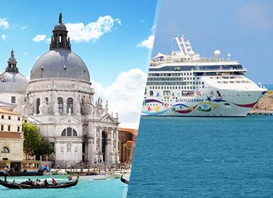 Circuitos Adriático, Italia, Grecia, Croacia 2017: Combinado Venecia y Crucero por Montenegro, Islas Griegas y Croacia