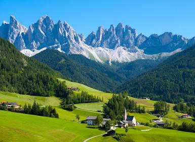 Centro y Sur de Europa: Suiza, Alpes y Norte de Italia