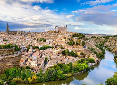 Centro de España: Alcalá de Henares, Segovia y Toledo, Ciudades Patrimonio de la Humanidad