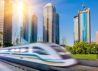 China Al Completo en tren