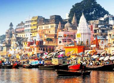 India: Delhi, Jaipur, Agra y Benarés