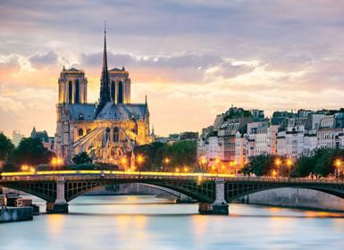 Francia e Italia: París, Venecia y Roma