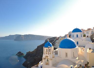Viajes de novios baratos en Grecia: Atenas, Mykonos y Santorini
