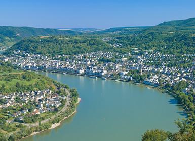 Alemania y Luxemburgo: Ruta en Coche por la Región del Valle del Rhin