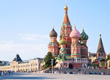 Rusia: Moscú