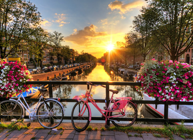 Inglaterra y Noroeste y Centro de Europa: Londres, Ámsterdam y Berlín