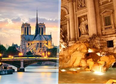Viajes Semana Blanca 2017 Roma y París Al Completo