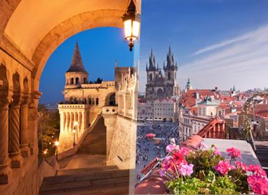 Viajes Semana Blanca 2017 Praga, Budapest y Viena Al Completo Plus