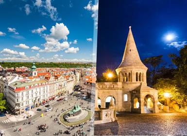 Viajes Semana Blanca 2017 Praga y Budapest Esencial  en tren