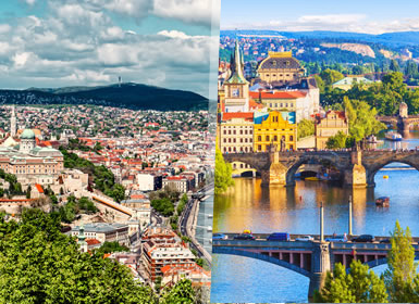 Viajes Semana Blanca 2017 Budapest, Praga y Viena Al Completo  en tren