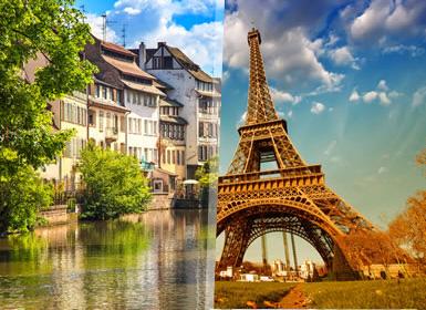 París, Países Bajos y Crucero por el Rhin A Fondo Plus