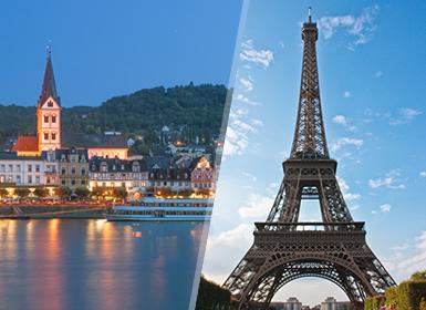 Tours por Europa 2017 París, Países Bajos y Crucero por el Rhin Al Completo Plus