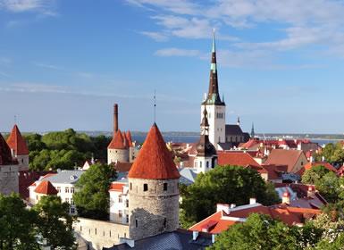 Viajes Mayores 55 años Norte de Europa: Tallin, Riga y Vilnius