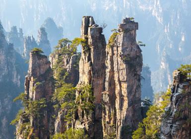 China con paisajes de Avatar A Fondo