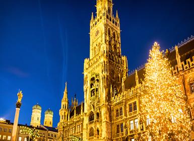 Alemania: Oferta Puente Diciembre Encantos Navideños en Múnich