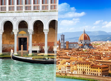 Viajes Semana Blanca 2016 Italia: Escapada a Venecia y Florencia  en Tren