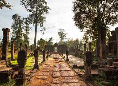 Camboya: Gran Ruta en bus