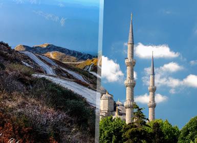 Combinado: Uzbekistán y Estambul