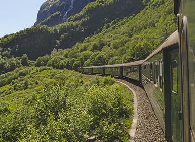 Noruega: Todo Noruega en tren