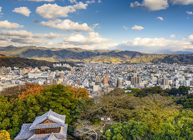 Turismo Matsuyama Japón