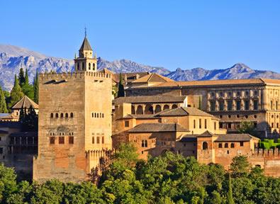 Circuitos por España en Avión: Andalucía: Granada y la Ruta del Califato