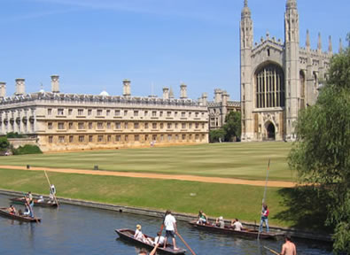 Circuitos por Inglaterra Cambridge