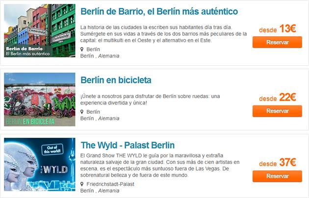 Excursiones en Berlín