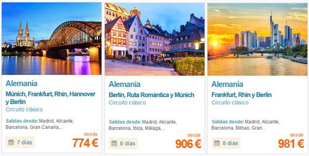 Viajes a Berlín organizdos