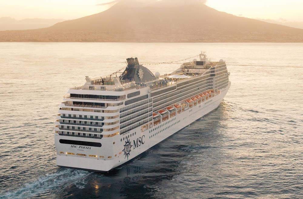 Barco MSC Poesia - MSC Cruceros