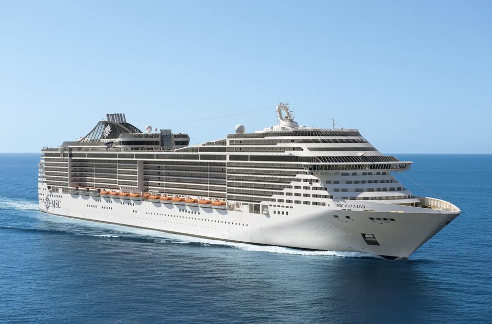 Barco MSC Fantasia - MSC Cruceros